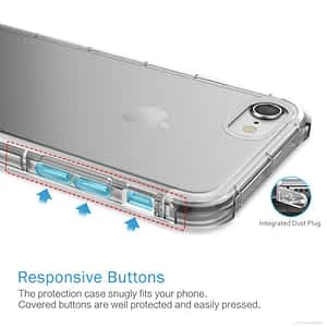 Iphone 6s tranparent cover